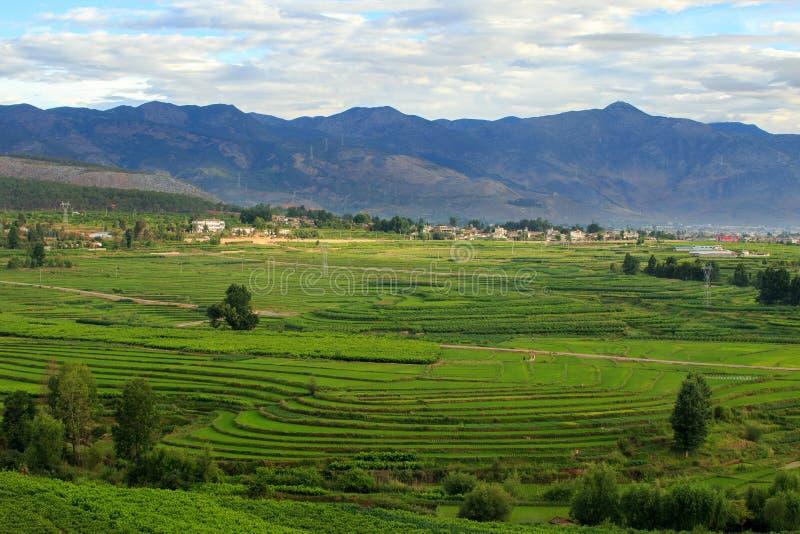 πόλη επαρχίας του Δαλιού Yunnan Κίνα στοκ φωτογραφία με δικαίωμα ελεύθερης χρήσης