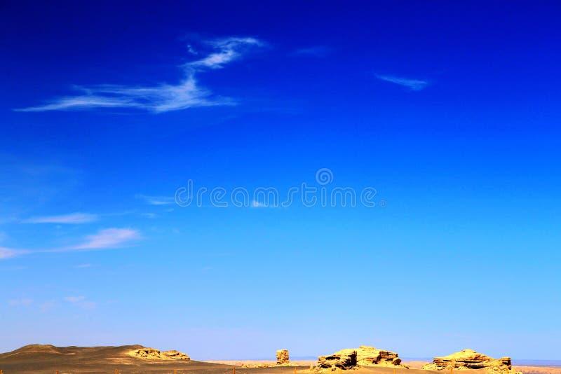 Πόλη διαβόλων Yadan Dunhuang στοκ εικόνα με δικαίωμα ελεύθερης χρήσης