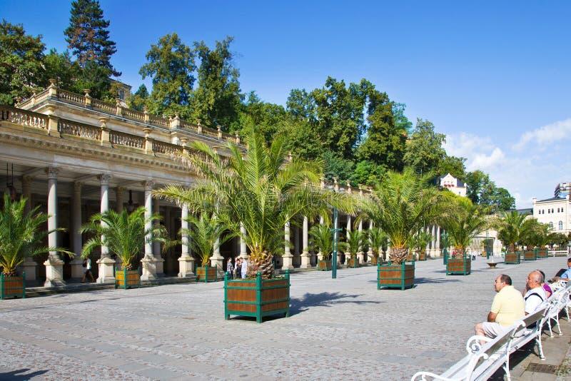 Download Πόλη Κάρλοβυ Βάρυ, Τσεχία, Ευρώπη SPA Εκδοτική Φωτογραφία - εικόνα από υγεία, οδός: 62712392