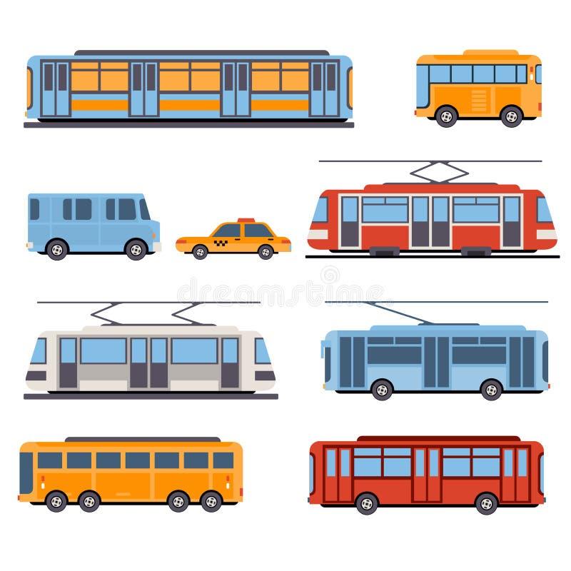 Πόλη και Intercity μεταφορά ελεύθερη απεικόνιση δικαιώματος