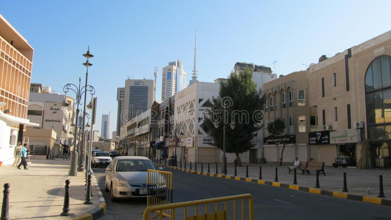 πόλη Κουβέιτ στοκ εικόνα με δικαίωμα ελεύθερης χρήσης
