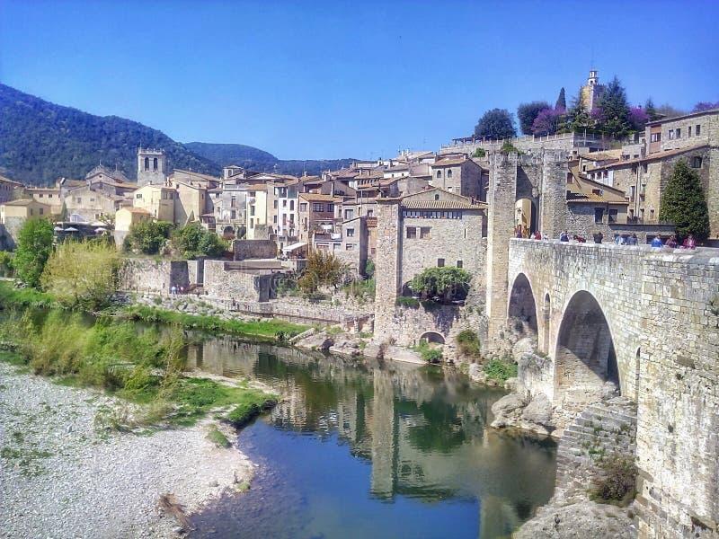 πόλη μεσαιωνική στοκ εικόνες με δικαίωμα ελεύθερης χρήσης
