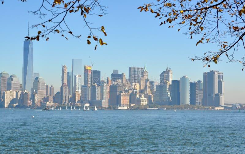 πόλη Νέα Υόρκη κτηρίων στοκ φωτογραφία με δικαίωμα ελεύθερης χρήσης