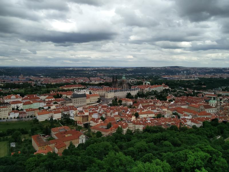 πόλη Πράγα στοκ εικόνες