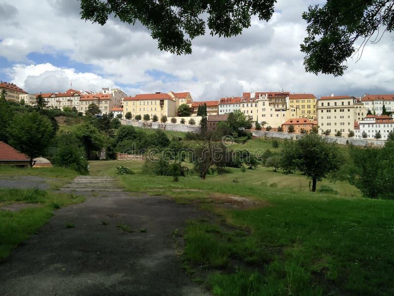 πόλη Πράγα στοκ εικόνες με δικαίωμα ελεύθερης χρήσης