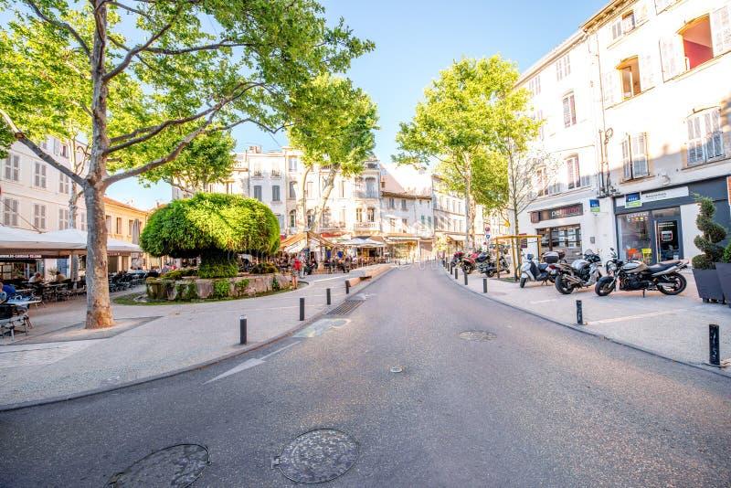 Πόλη σαλόνι-de-Προβηγκία στη Γαλλία στοκ φωτογραφία με δικαίωμα ελεύθερης χρήσης