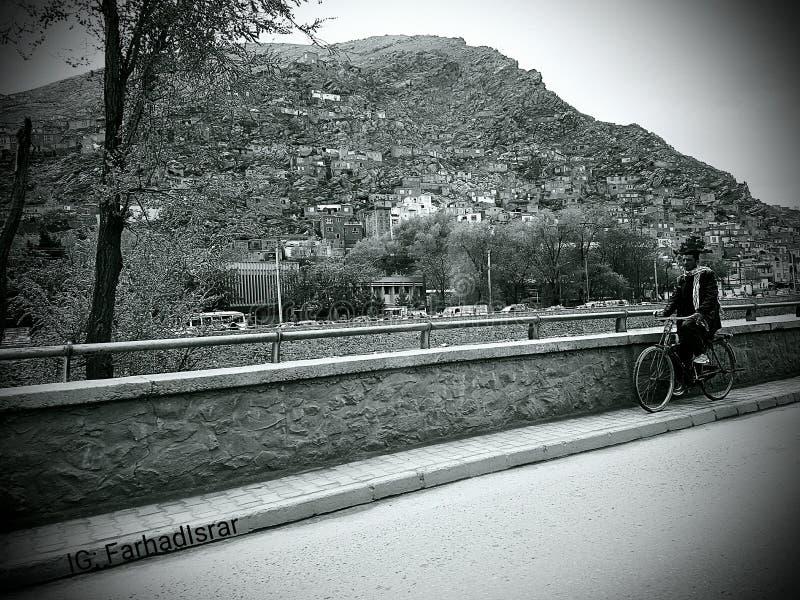 Πόλη σε ένα βουνό! στοκ εικόνες
