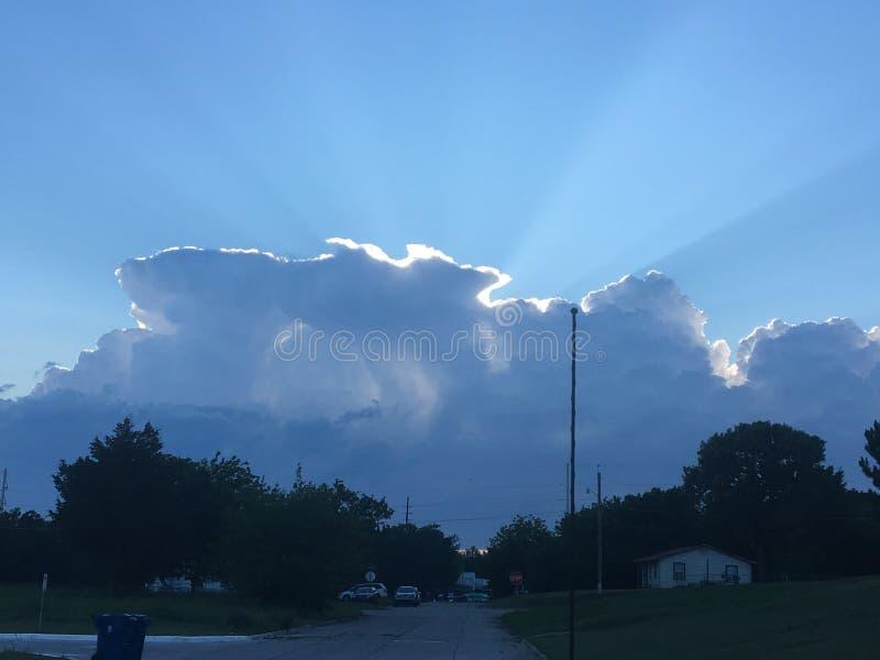 Πόλη σύννεφων στοκ φωτογραφία