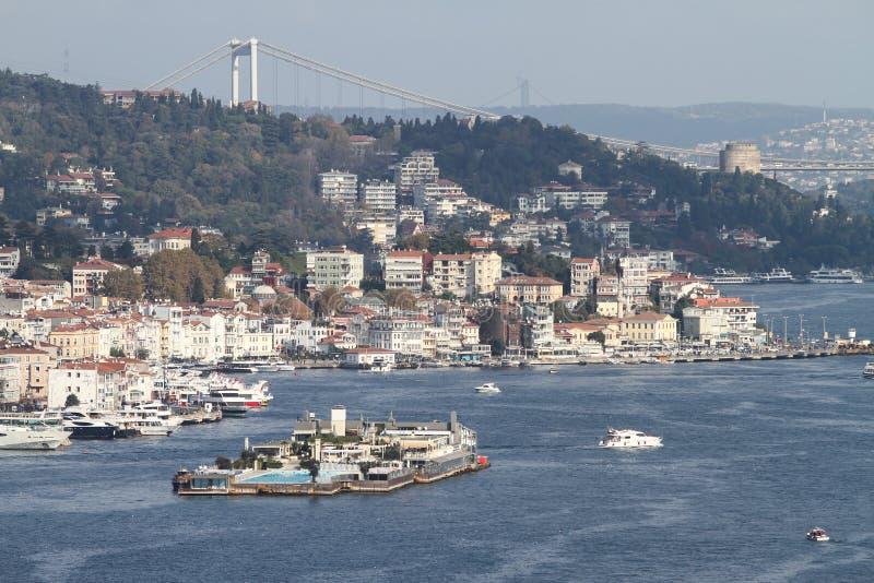 Πόλη της Ιστανμπούλ στοκ φωτογραφία με δικαίωμα ελεύθερης χρήσης