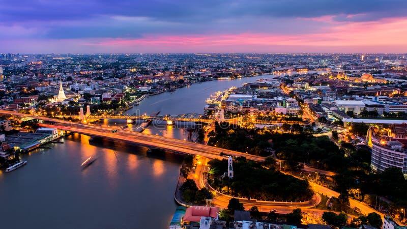 Πόλη της Μπανγκόκ στοκ φωτογραφίες
