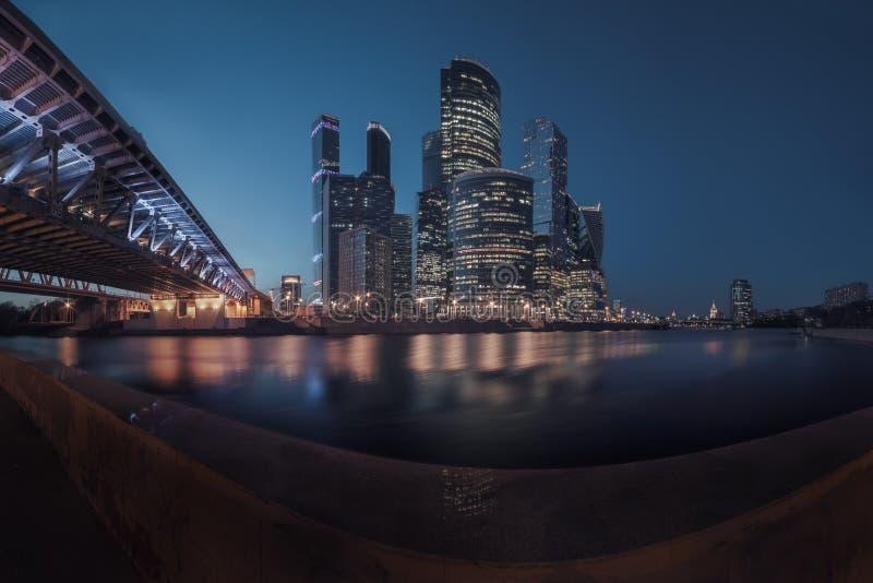 Πόλη της Μόσχας, Ρωσία στοκ εικόνες