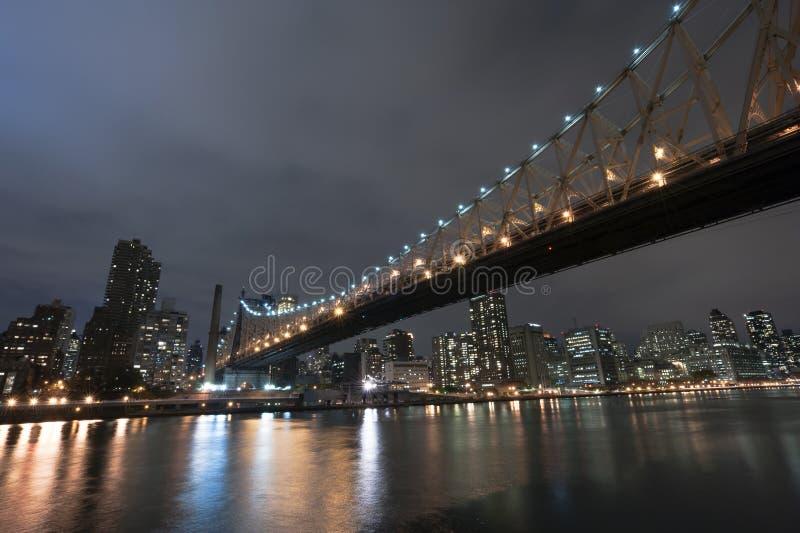 Πόλη της Νέας Υόρκης γεφυρών Queensboro στοκ φωτογραφία με δικαίωμα ελεύθερης χρήσης