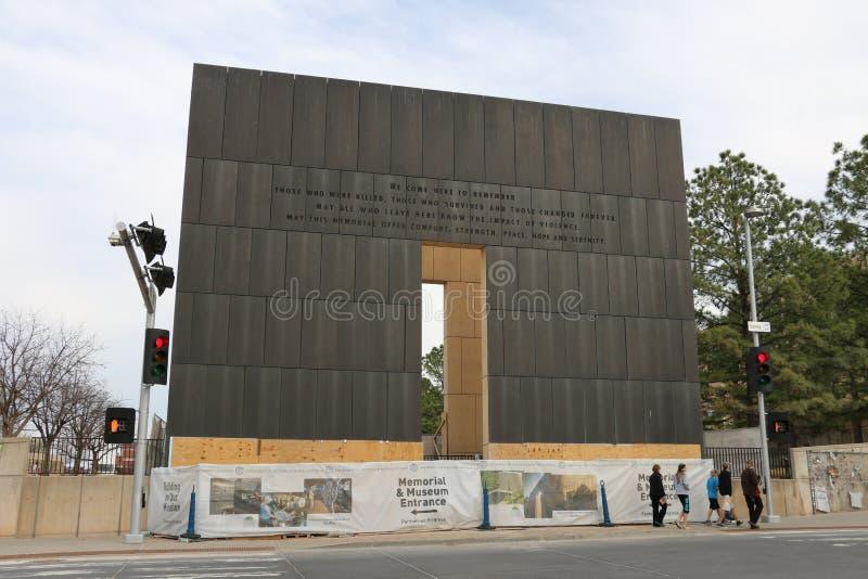 Πόλη της Οκλαχόμα Afred Π Murrah στοκ εικόνα με δικαίωμα ελεύθερης χρήσης