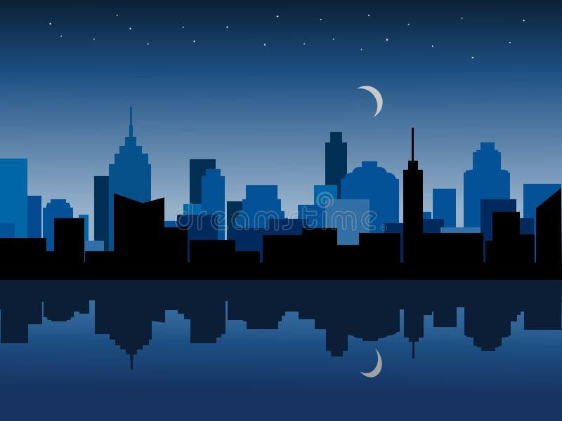 Πόλη τη νύχτα στοκ φωτογραφία με δικαίωμα ελεύθερης χρήσης