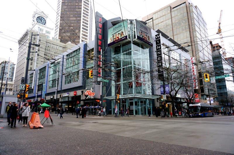 Πόλη του Βανκούβερ στοκ εικόνες με δικαίωμα ελεύθερης χρήσης