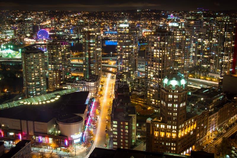 Πόλη του Βανκούβερ στοκ φωτογραφία με δικαίωμα ελεύθερης χρήσης