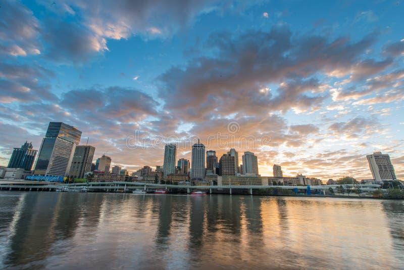 Πόλη του Μπρίσμπαν, QLD Αυστραλία στοκ φωτογραφία