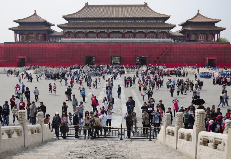 πόλη του Πεκίνου Κίνα που στοκ φωτογραφία με δικαίωμα ελεύθερης χρήσης