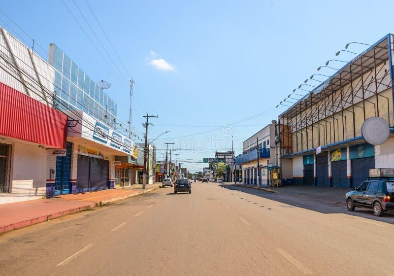 Πόλη του Πόρτο Velho κατά τη διάρκεια των διακοπών του Corpus Christi στοκ εικόνα με δικαίωμα ελεύθερης χρήσης