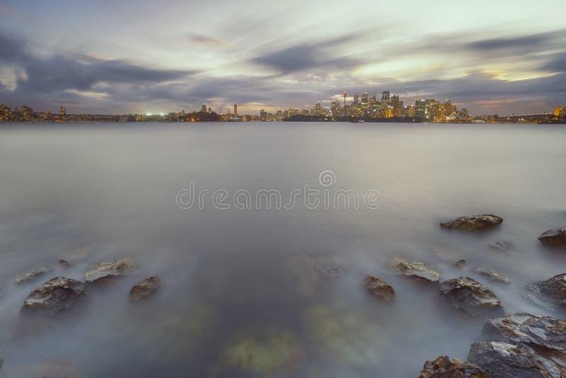 Πόλη του Σίδνεϊ στοκ εικόνες με δικαίωμα ελεύθερης χρήσης
