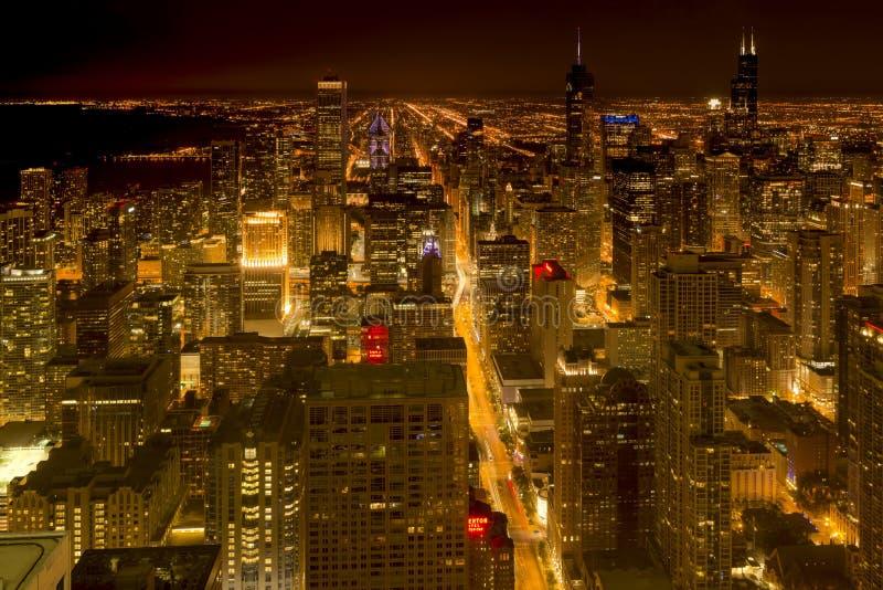 πόλη του Σικάγου στοκ εικόνα