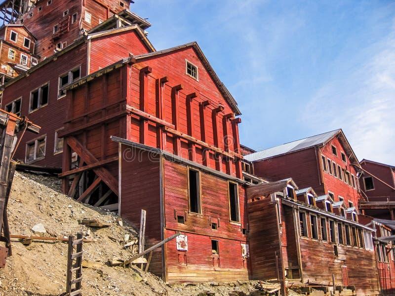 Πόλη-φάντασμα ορυχείου ε, Kennicott, Αλάσκα στοκ φωτογραφίες