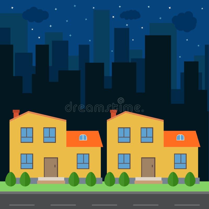 Πόλη-14 διανυσματική απεικόνιση