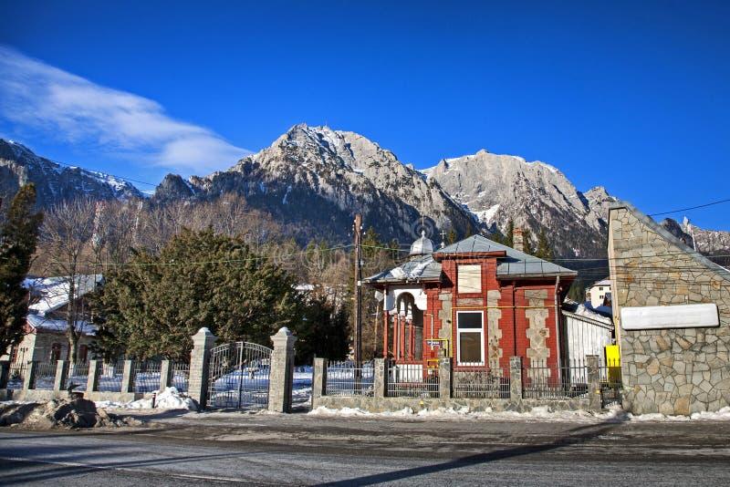 Πόλη Busteni στοκ εικόνες