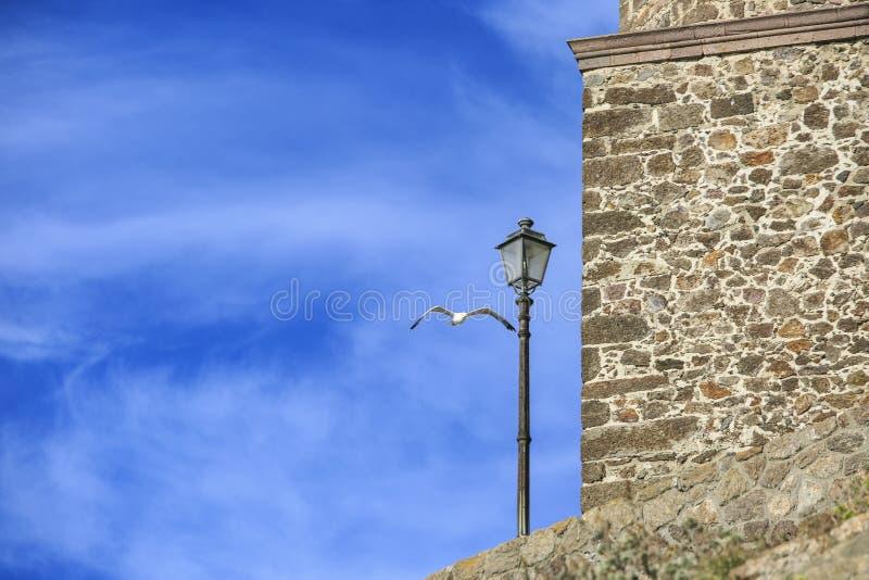 Πόλη Castelsardo που εγκαθίσταται Ιταλία στη Σαρδηνία, στοκ φωτογραφίες με δικαίωμα ελεύθερης χρήσης
