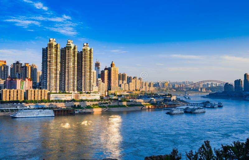 Πόλη Chongqing στοκ φωτογραφίες με δικαίωμα ελεύθερης χρήσης