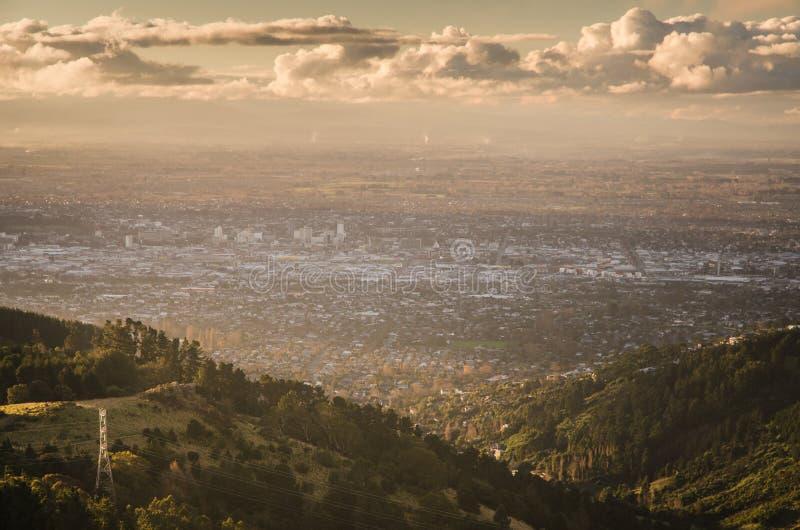 Πόλη Christchurch στοκ εικόνα με δικαίωμα ελεύθερης χρήσης