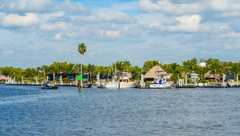 Πόλη Everglades στοκ εικόνα με δικαίωμα ελεύθερης χρήσης