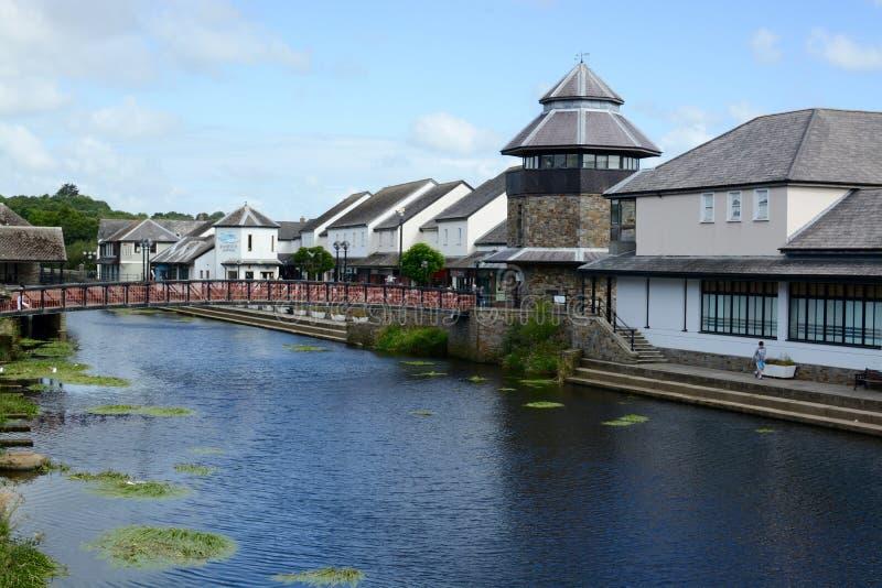 Πόλη Haverfordwest στοκ εικόνες