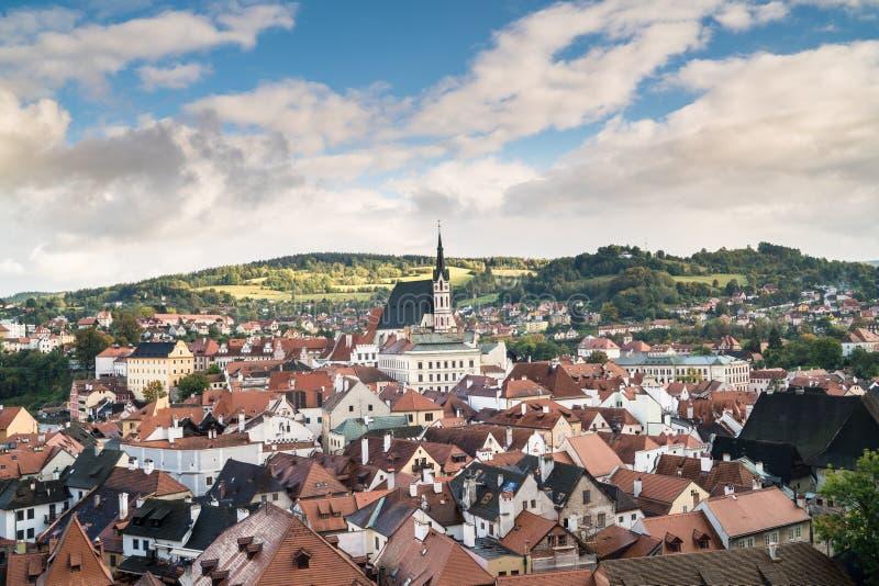 Πόλη Krumlov Cesky στοκ φωτογραφία με δικαίωμα ελεύθερης χρήσης