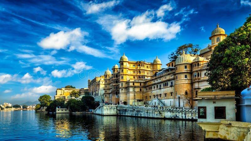 Πόλη Palace Ινδία udaipur στοκ φωτογραφίες με δικαίωμα ελεύθερης χρήσης