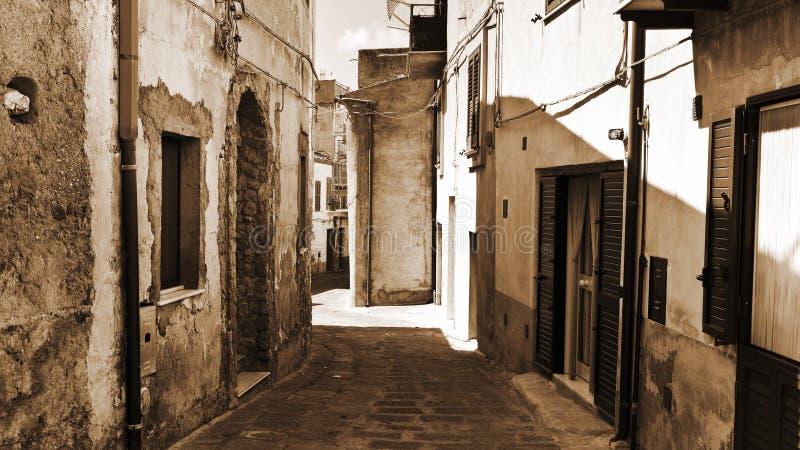 Πόλη Pietraperria στοκ εικόνες με δικαίωμα ελεύθερης χρήσης