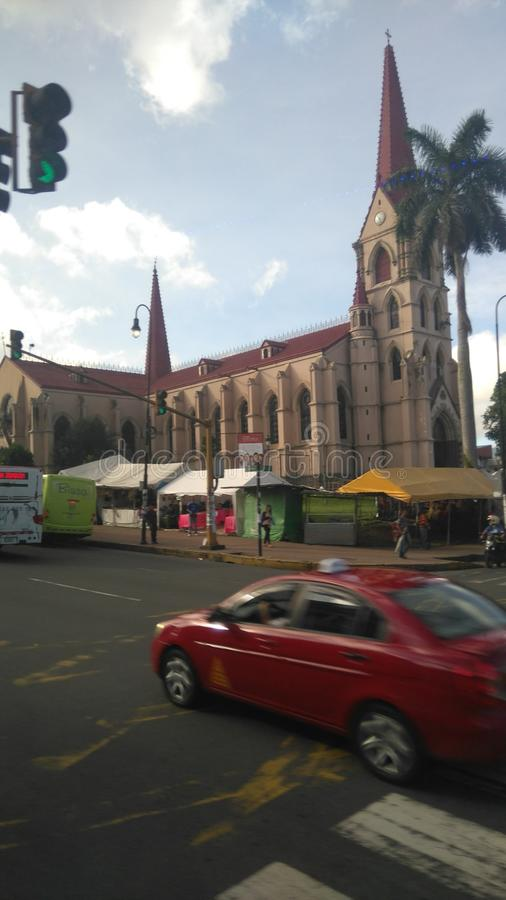 Πόλη SAN José, Κόστα Ρίκα στοκ εικόνες με δικαίωμα ελεύθερης χρήσης