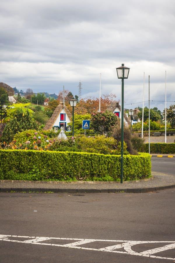 Πόλη Santana στη Μαδέρα στοκ φωτογραφίες