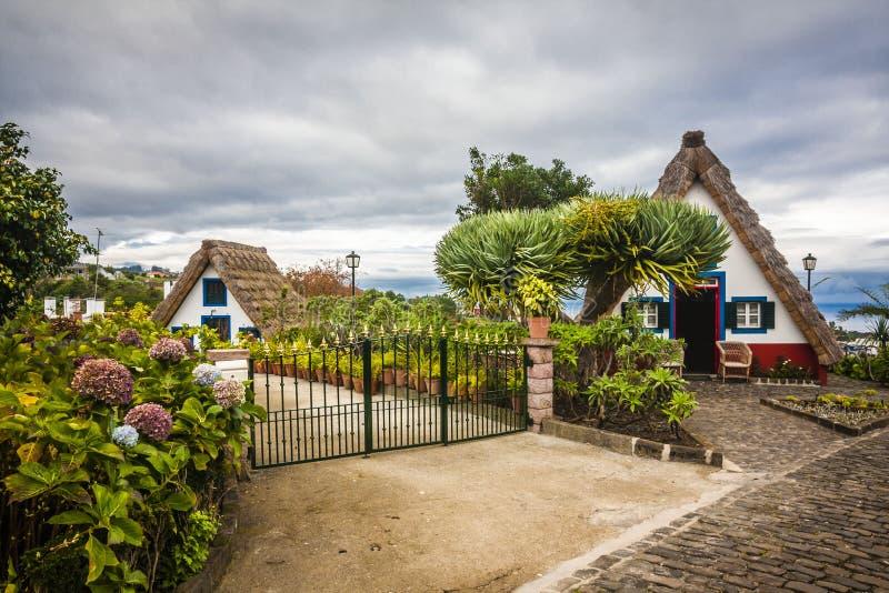 Πόλη Santana στη Μαδέρα στοκ φωτογραφίες με δικαίωμα ελεύθερης χρήσης