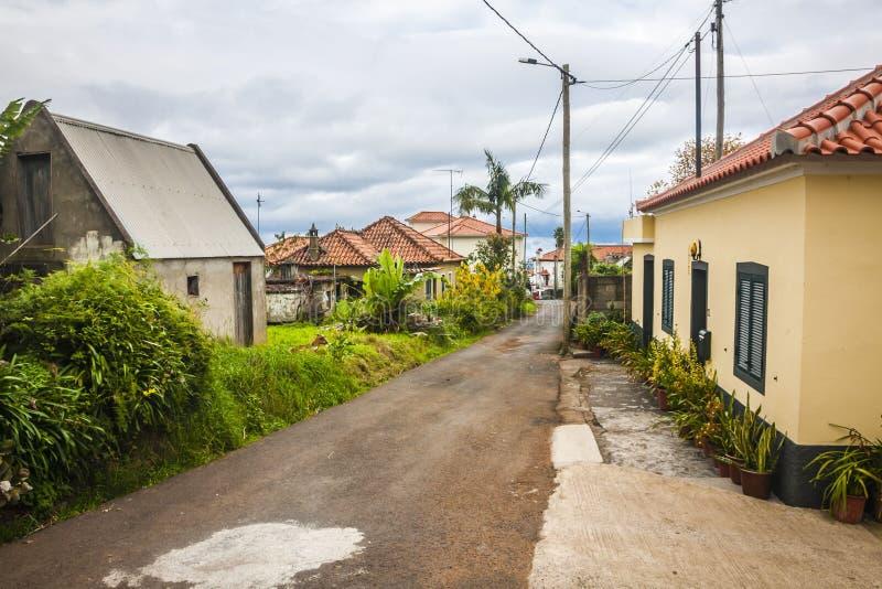Πόλη Santana στη Μαδέρα στοκ εικόνα