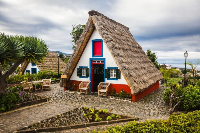 Πόλη Santana στη Μαδέρα στοκ εικόνα με δικαίωμα ελεύθερης χρήσης