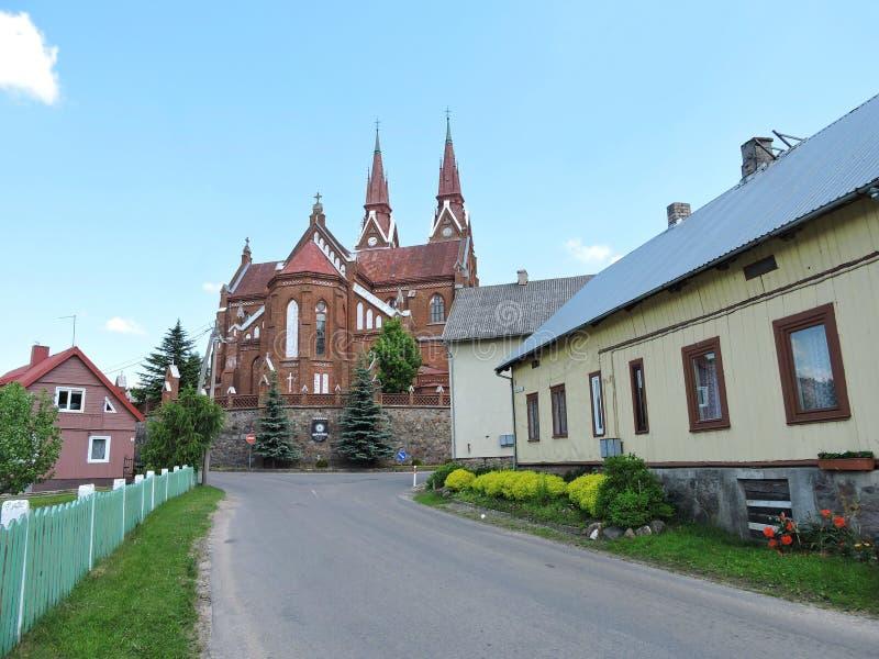 Πόλη Sveksna, Λιθουανία στοκ φωτογραφία με δικαίωμα ελεύθερης χρήσης