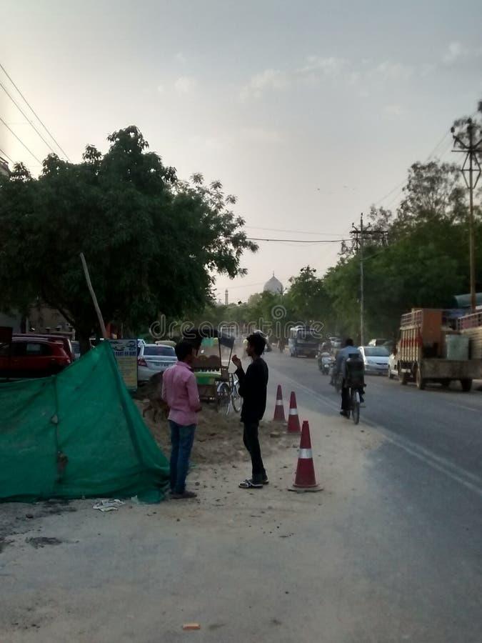 Πόλη Taj: Έργο υπό κατασκευή στοκ φωτογραφίες