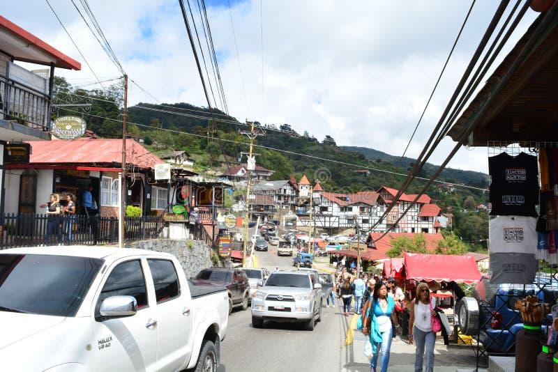 Πόλη Tovar Colonia, Βενεζουέλα στοκ εικόνες