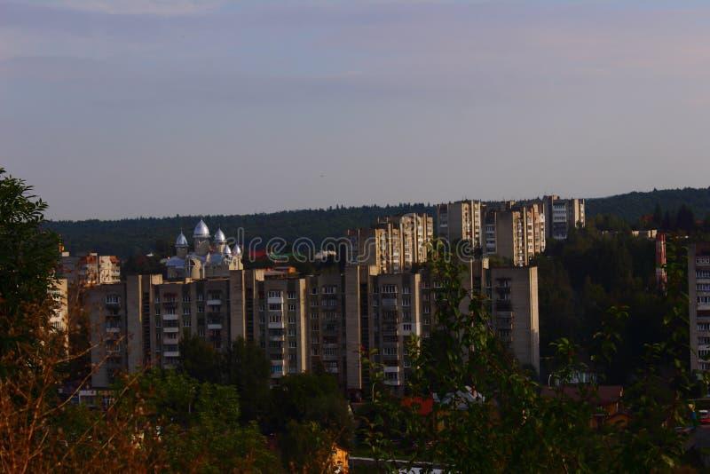 Πόλη Truskavets στοκ εικόνα