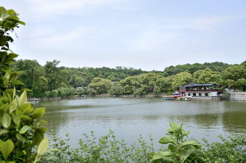 Πόλη Yueyang, επαρχία Hunan Κίνα στοκ φωτογραφίες
