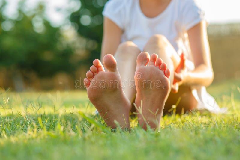 πόδια s παιδιών στοκ φωτογραφία