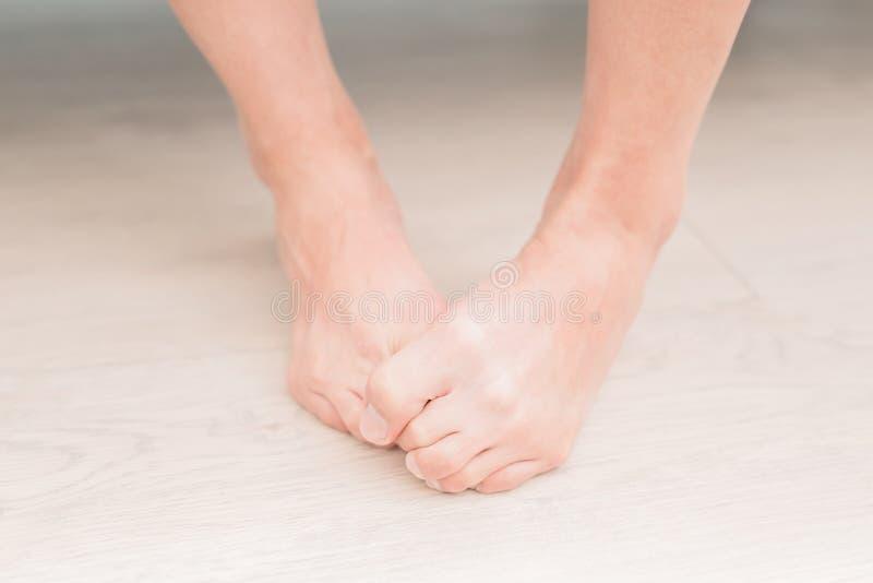 Πόδι αθλητών γυναικών στοκ φωτογραφία