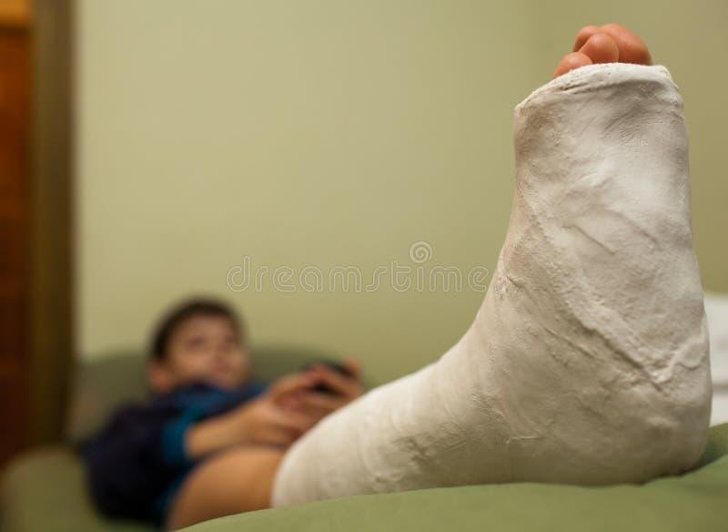 Πόδι στο ασβεστοκονίαμα στοκ εικόνες