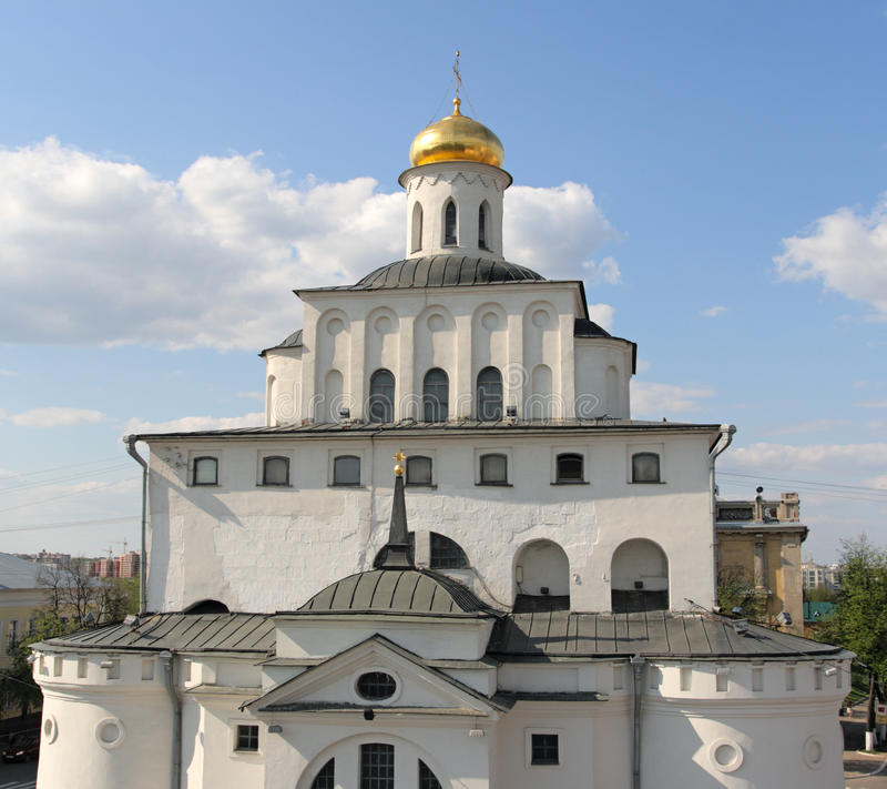 πύλες χρυσή Ρωσία vladimir στοκ εικόνα